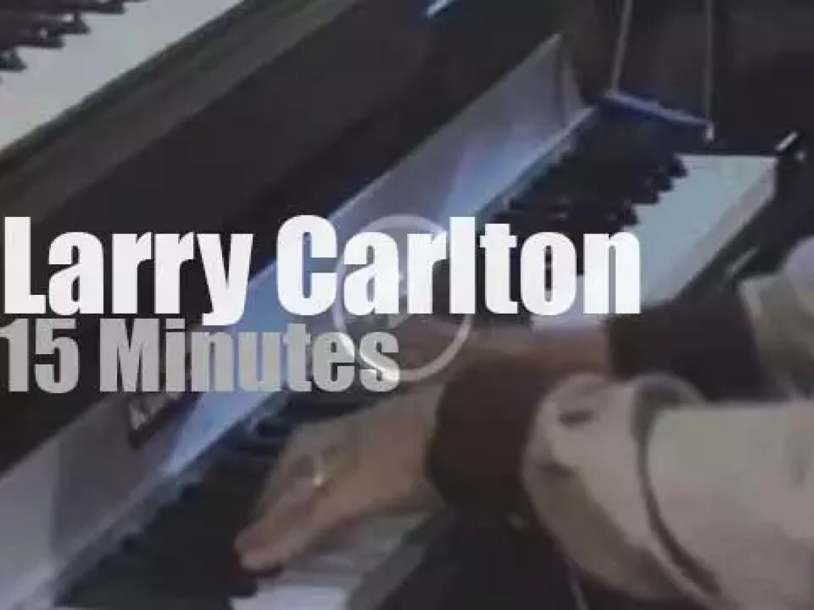 Larry Carlton takes Room 335 to Montreux (1979)