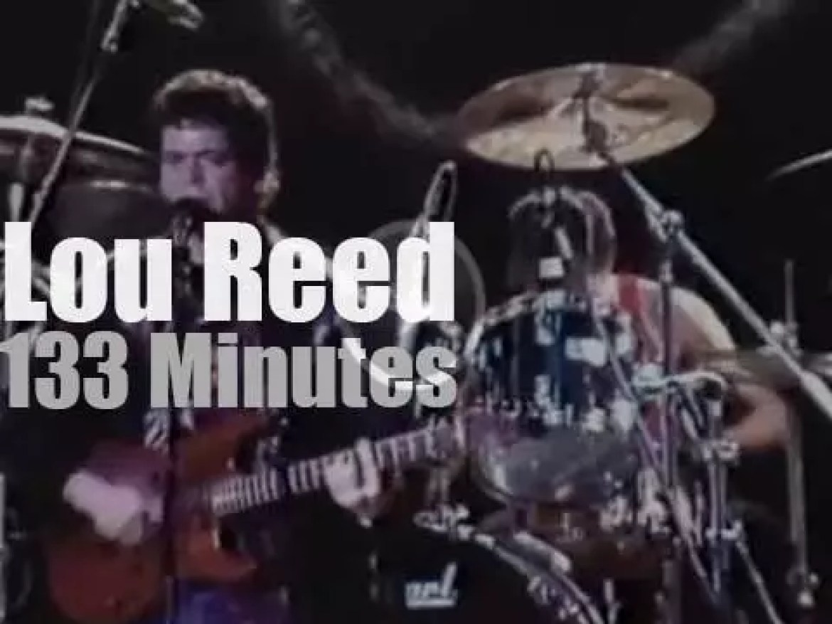 Lou Reed is back in New-York (1986)