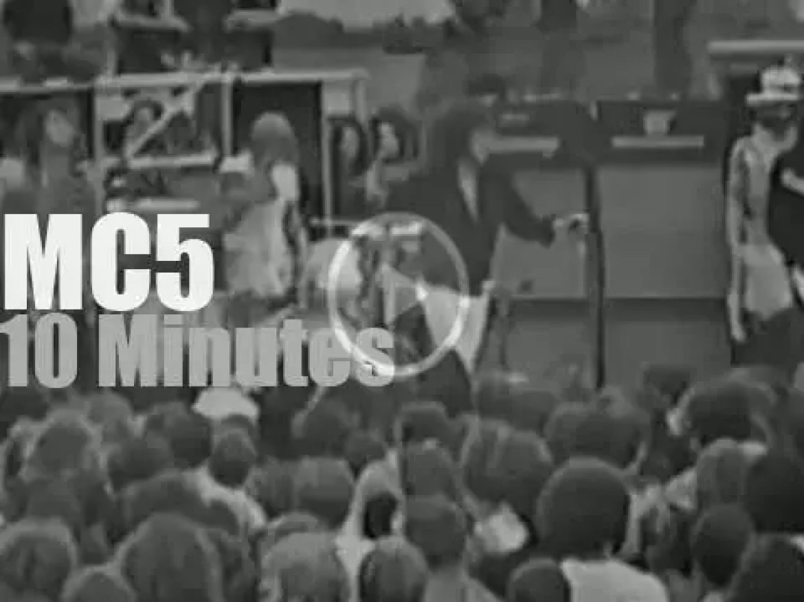 MC5 kicks out the jams in Detroit (1970)