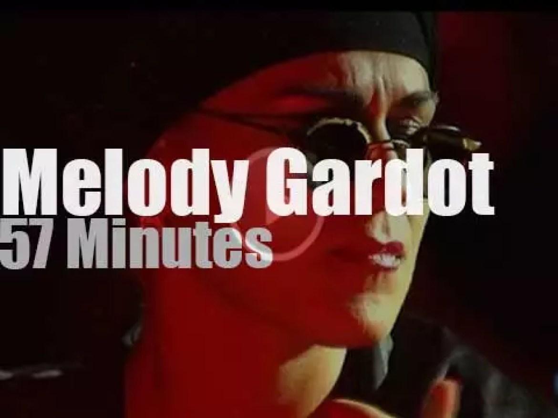 Melody Gardot sings at Jazzaldia (2012)