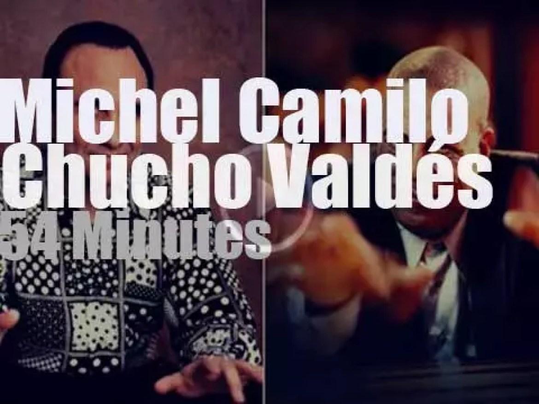 Michel Camilo & Chucho Valdés meet at Umbria Jazz (1997)