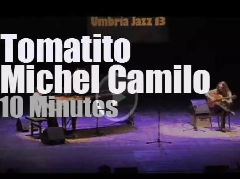 Michel Camilo e Tomatito meet at Umbria Jazz (2013)