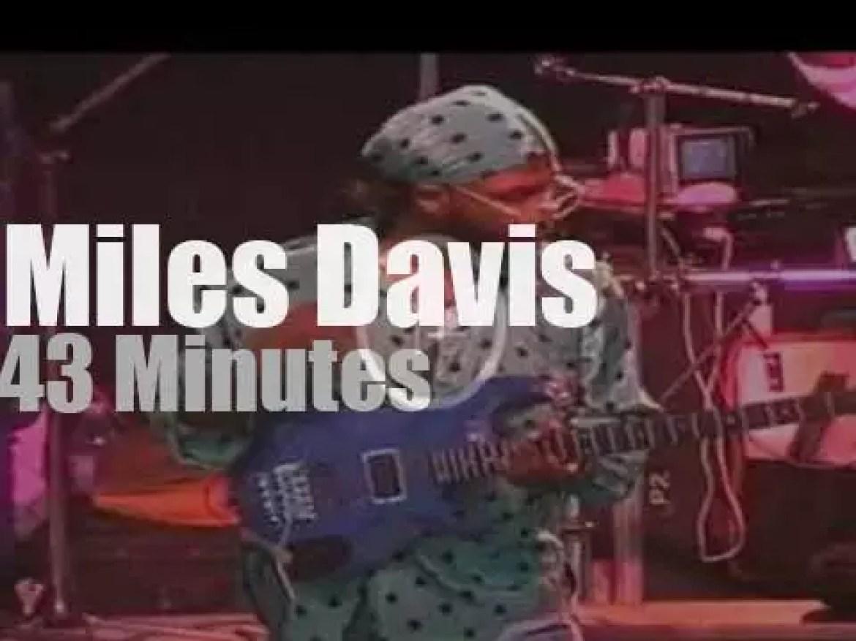 Miles Davis plays in Hamburg (1990)