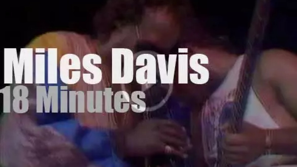 Miles Davis is back in Montreux  (1988)