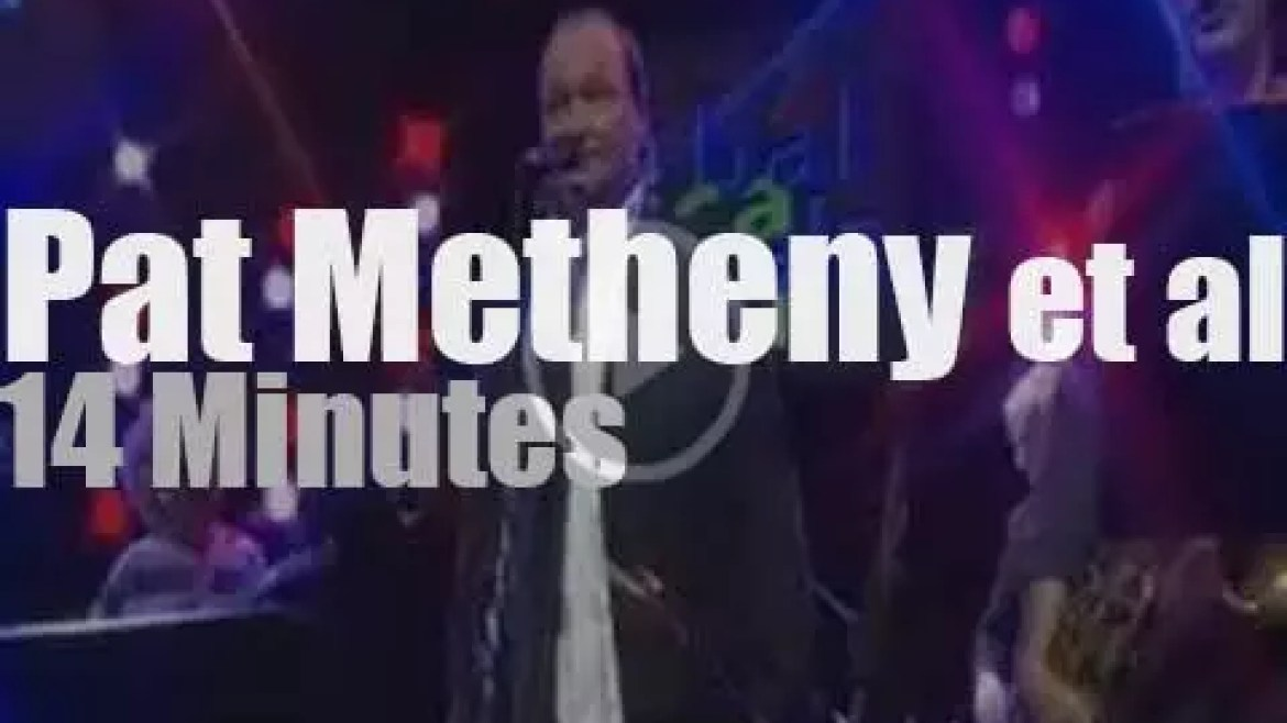 Pat Metheny and friends play in Jazz Baltica (2003)