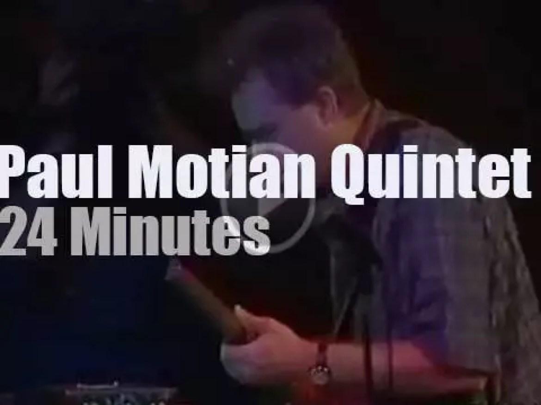 Paul Motian Quintet  plays at Umbria Jazz (1995)