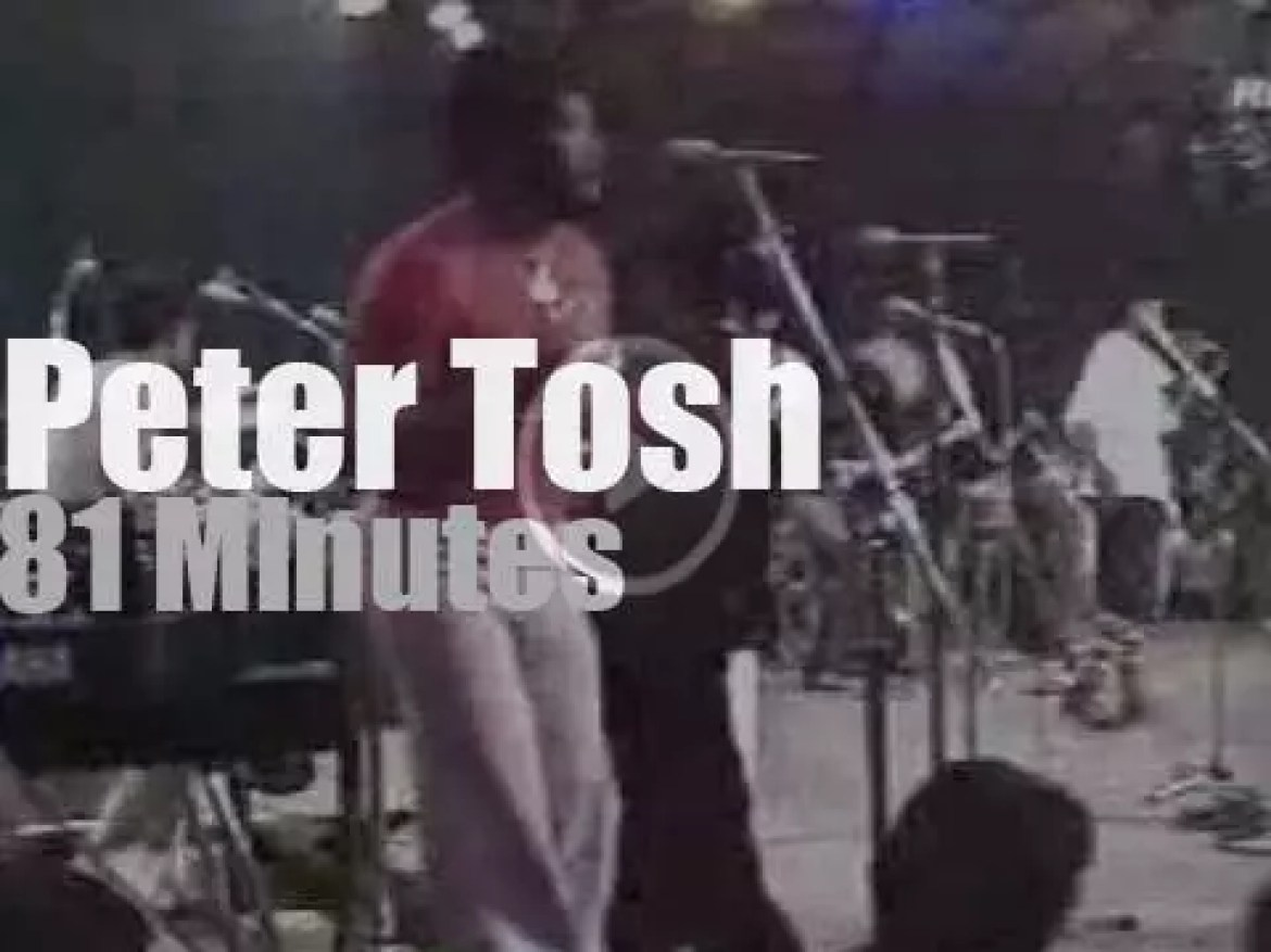 Montreux gets up, stands up for Peter Tosh  (1979)