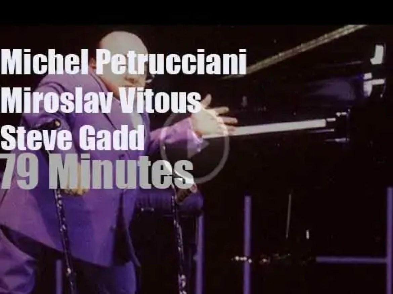 Petrucciani, Vitous & Gadd meet in Munich (1997)