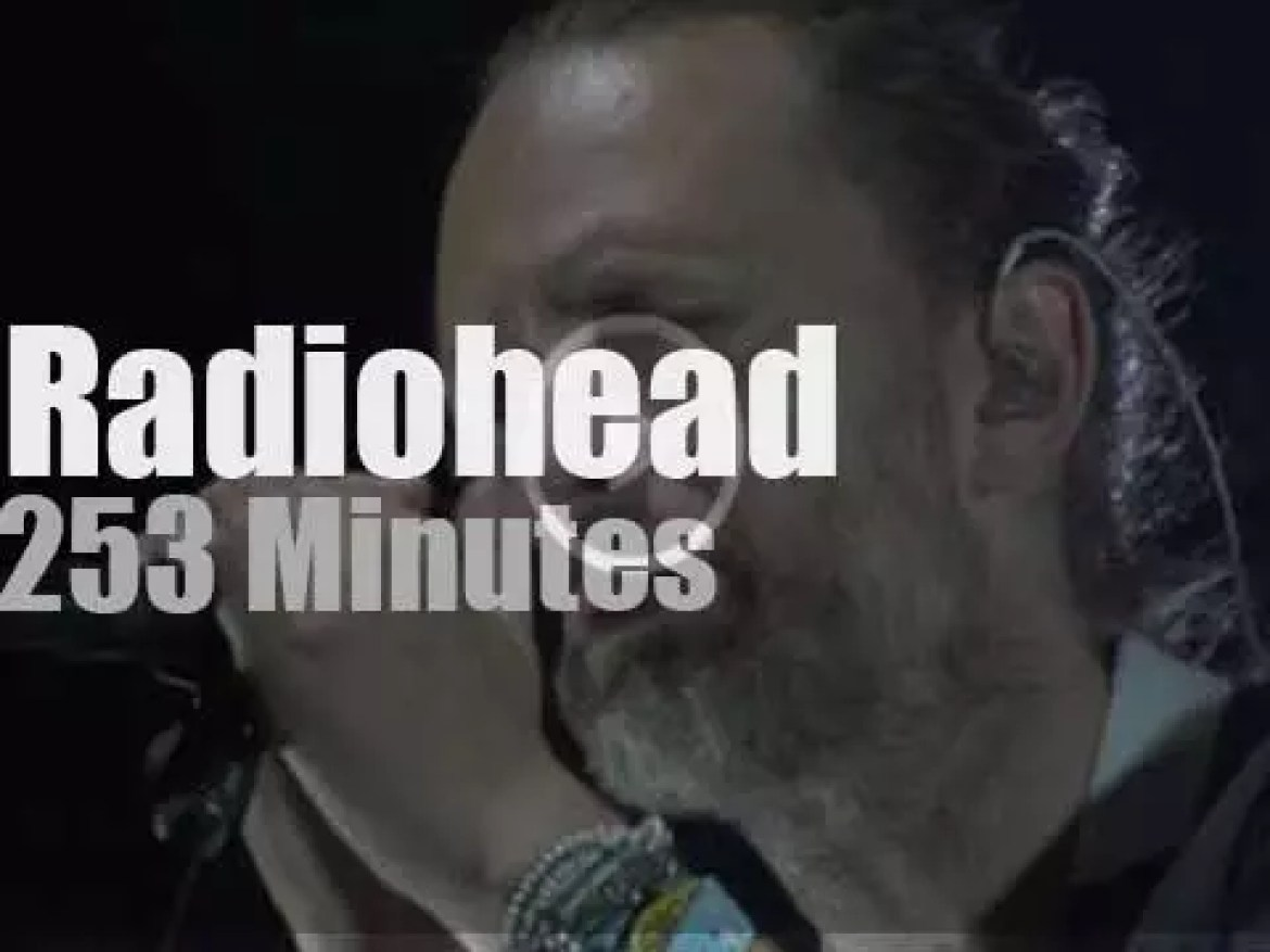 Radiohead are at MSG for two nights (2016)