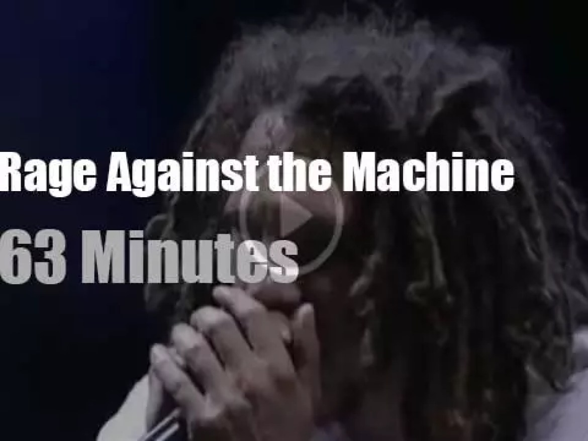 Rage Against the Machine plays at Woodstock '99 day 3 (1999)