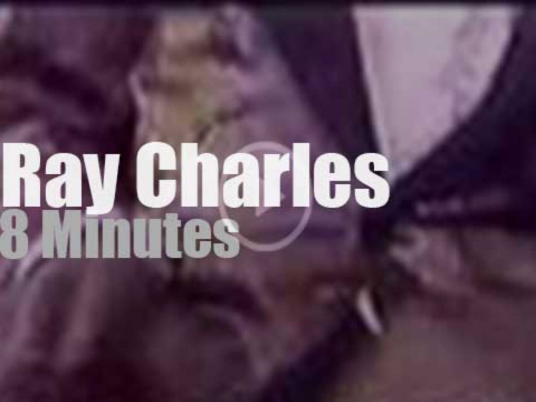 Ray Charles sings at Antibes Jazz (1990)