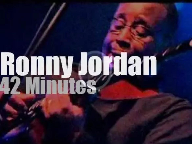 Ronny Jordan brings his 'urban jazz' to Paris (2002)