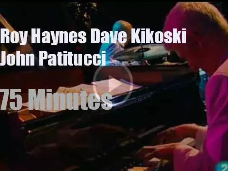 Roy Haynes invites Kikoski & Patitucci to San Sebatian (2009)