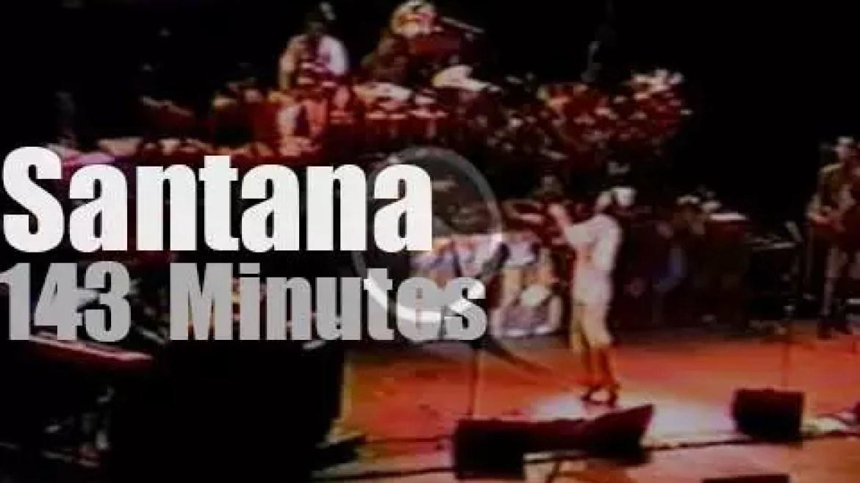 Santana plays Radio City Music Hall (1997)