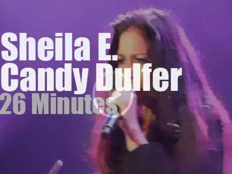 Sheila E & Candy Dulfer meet at  North Sea Jazz (2014)