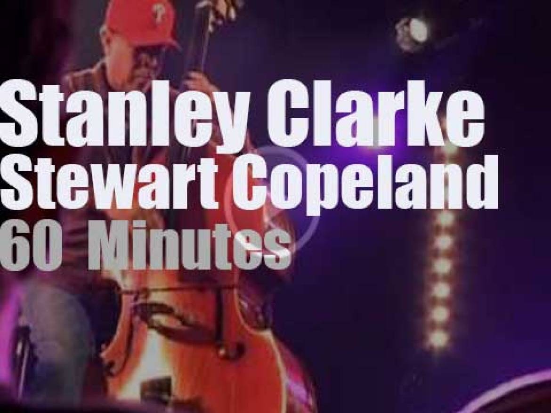 Stanley Clarke sits in with Stewart Copeland (2012)