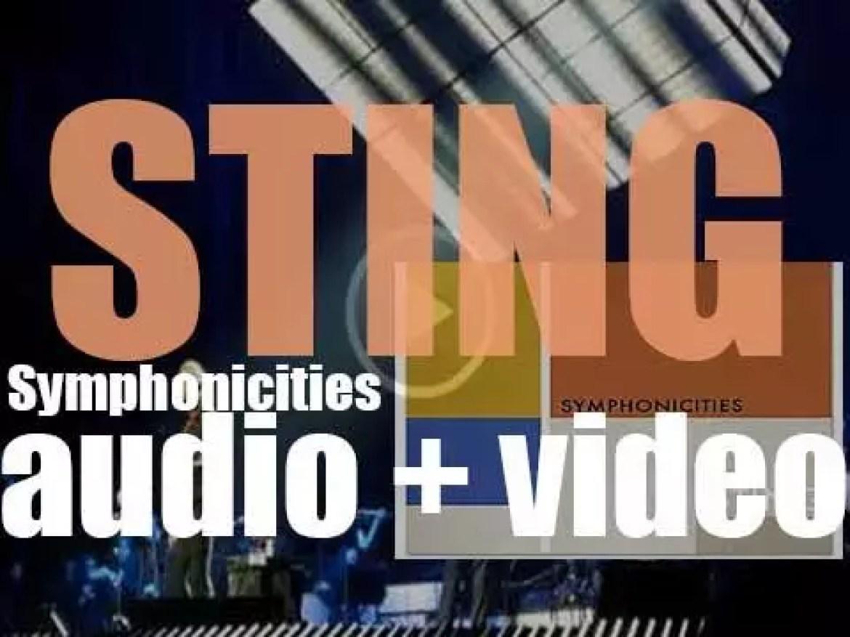 Deutsche Grammophon publish Sting's 'Symphonicities,' his tenth album (2010)