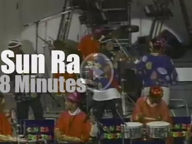 """Sun Ra is """"Live Under The Sky""""  (1988)"""