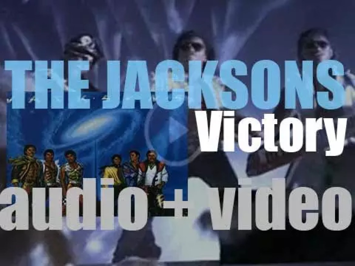 The Jacksons release 'Victory' featuring 'State of Shock' recorded with Mick Jagger (1984)