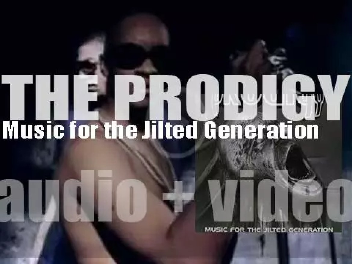 XL Recordings release The Prodigy's second album : 'Music for the Jilted Generation' (1994)