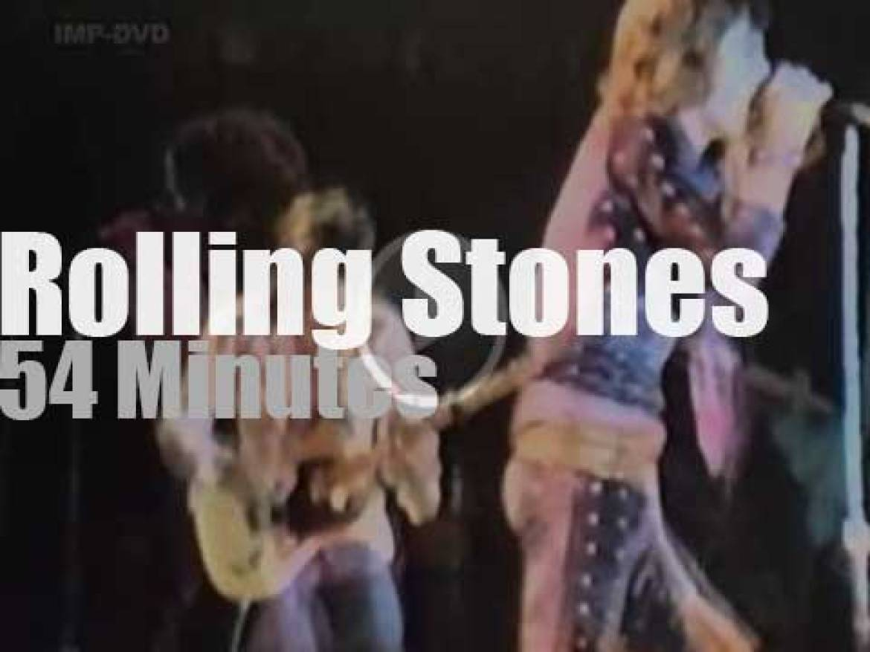 The Rolling Stones rock the Garden (1972)