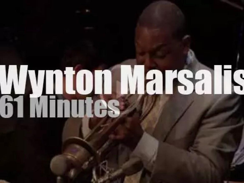 The Wynton Marsalis Quintet visits London (2013)