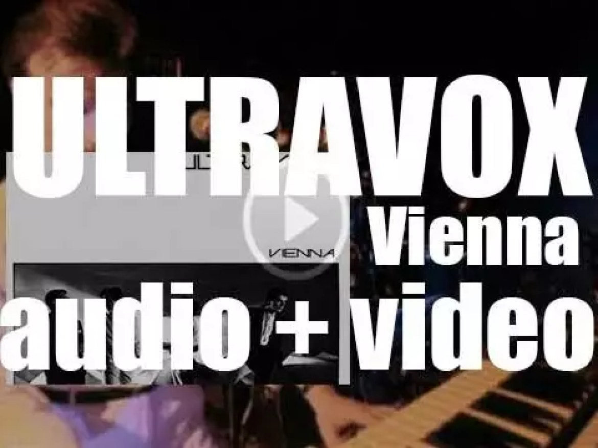 Chrysalis Records publish Ultravox' fourth album : 'Vienna' co-produced with Conny Plank (1980)