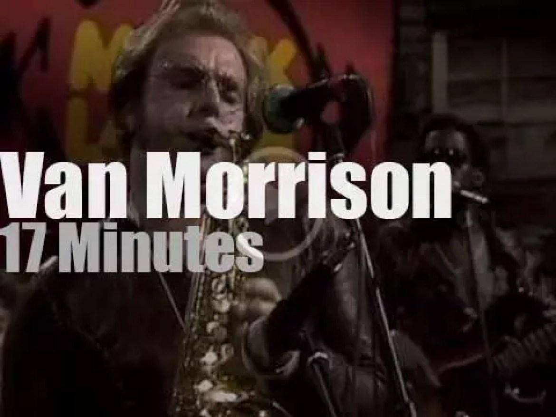 German TV tapes a Van Morrison segment (1974)