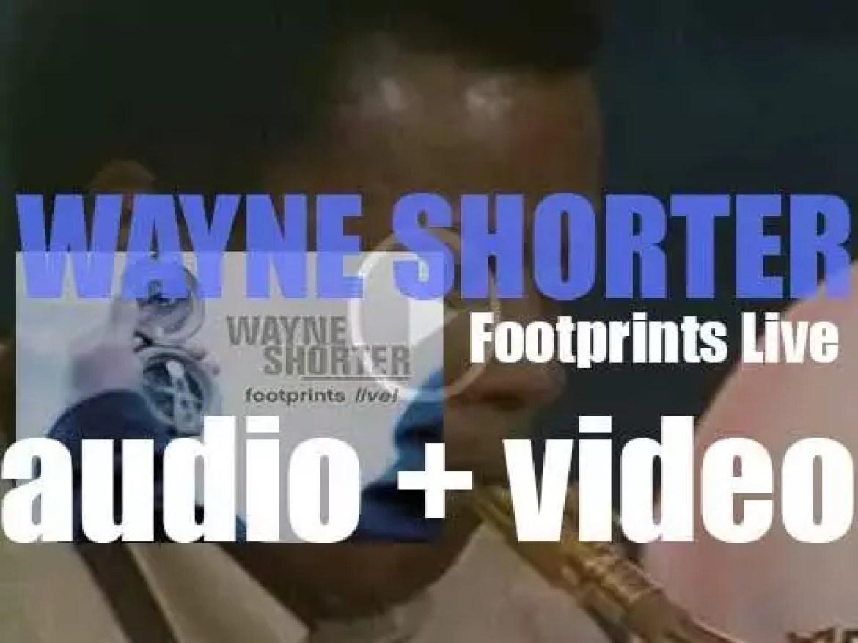 Wayne Shorter records 'Footprints Live!' with Danilo Perez, John Patitucci and Brian Blade (2001)