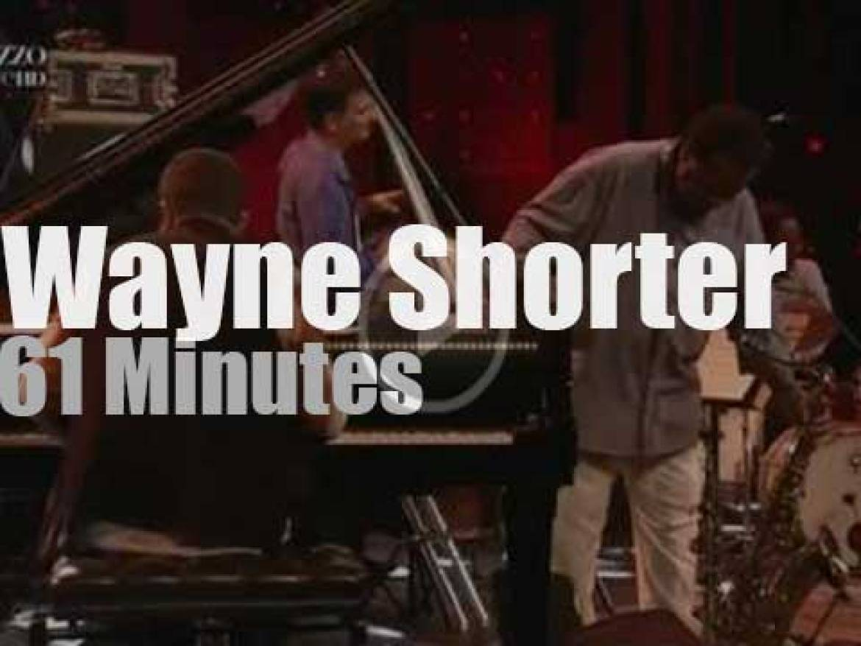 "Wayne Shorter Quartet is at ""Jazz in Marciac"" (2013)"