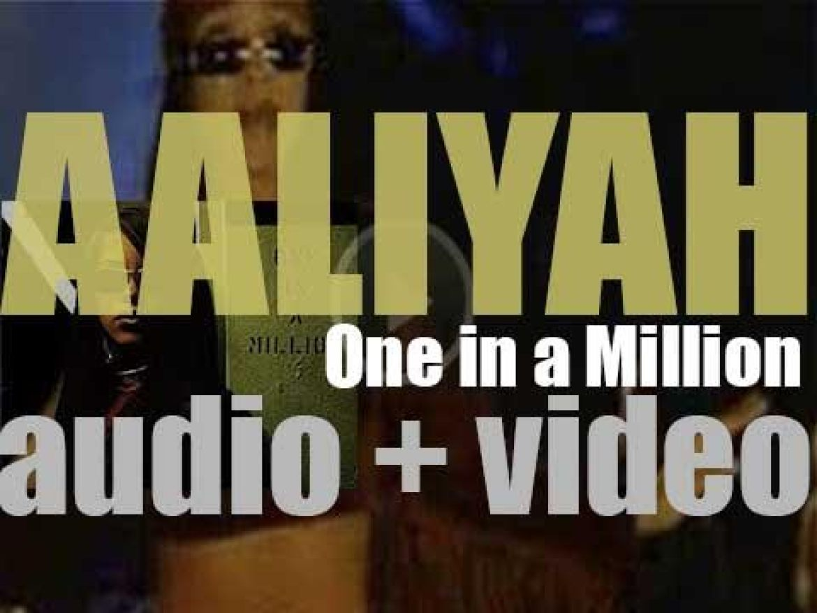 Aaliyah releases her second album : 'One in a Million' featuring 'If Your Girl Only Knew' and 'The One I Gave My Heart To' (1996)