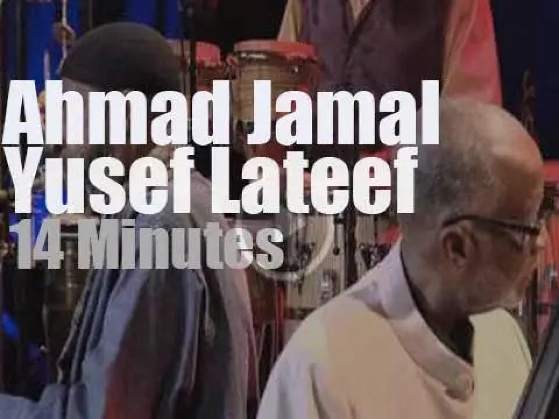 Ahmad Jamal teams up with Yusef Lateef in Marciac (2011)
