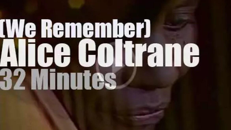 We Remember Alice Coltrane