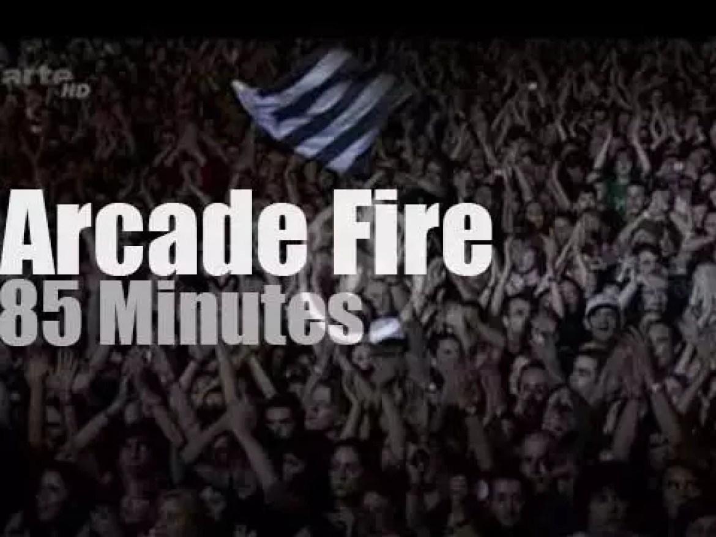 "Arcade Fire rock ""en Seine"" (2007)"