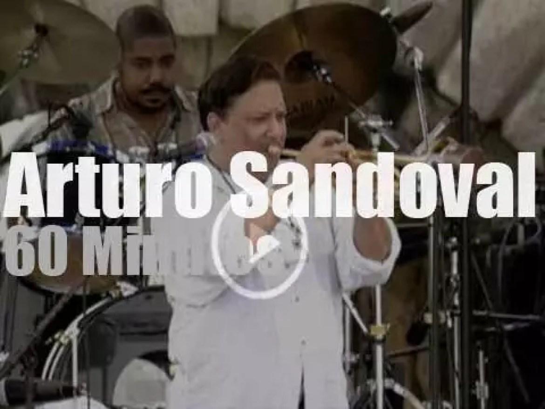 Arturo Sandoval plays at Newport Jazz (1998)