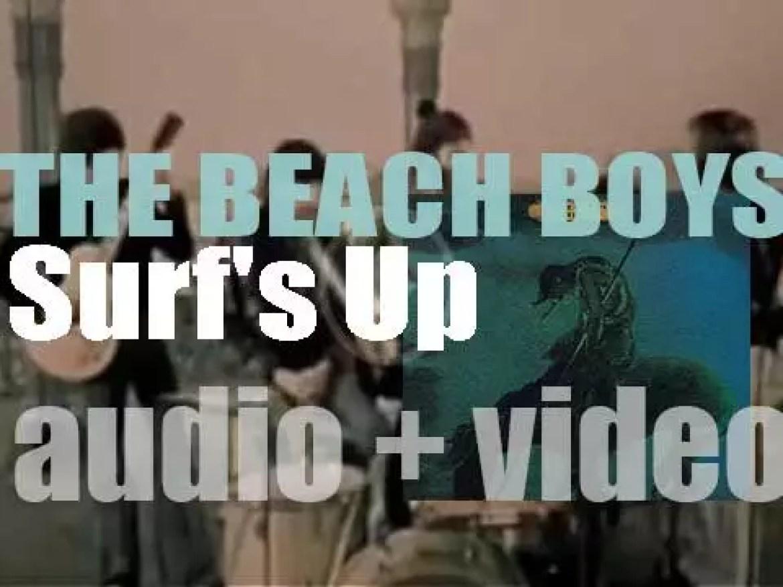 Beach Boys release their seventeenth album : 'Surf's Up'