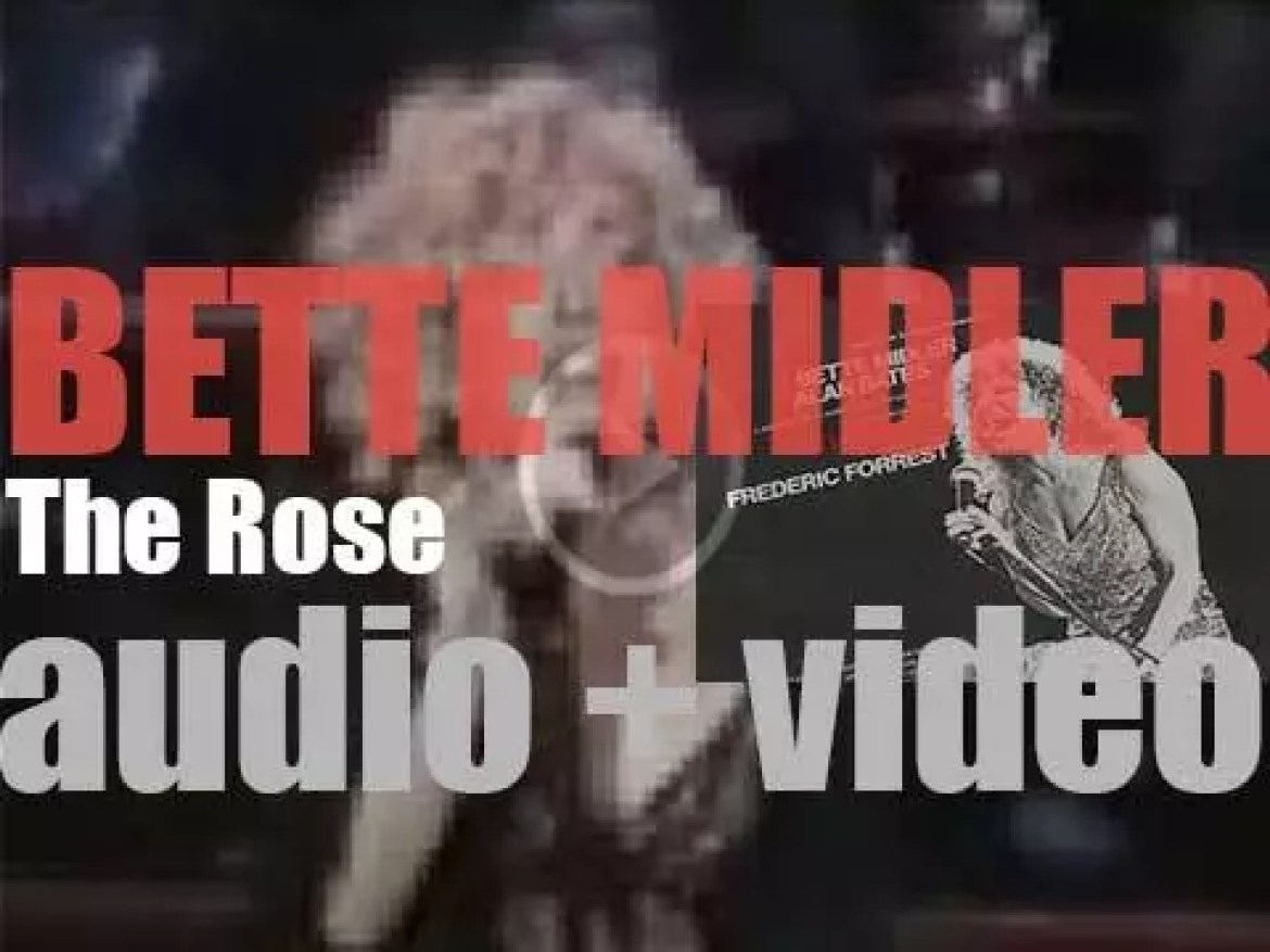 Atlantic publish Bette Midler's 'The Rose,'  the official soundtrack to the eponymous movie (1979)