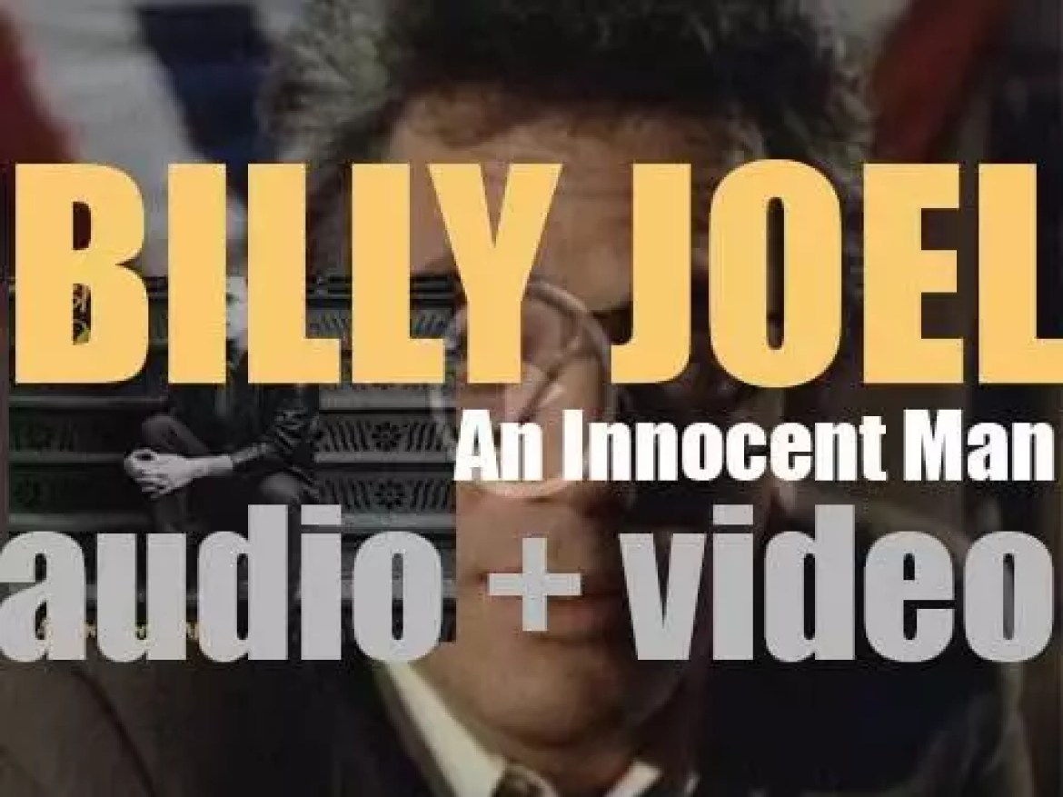 Billy Joel releases 'An Innocent Man,' his ninth album featuring 'Tell Her About It' and 'Uptown Girl' (1983)