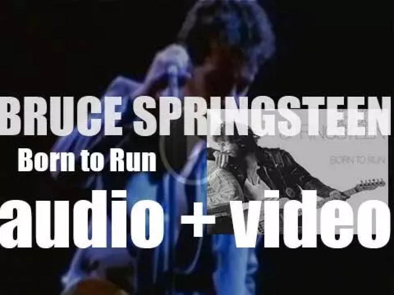 Bruce Springsteen releases his third album : 'Born to Run' featuring 'Jungleland' (1975)
