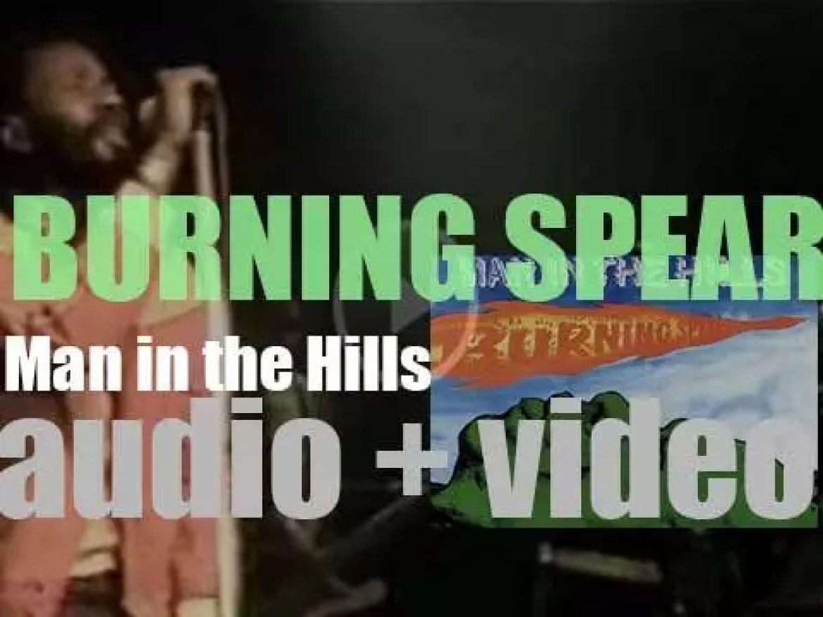Island publish Burning Spear's 'Man in the Hills' (1976)