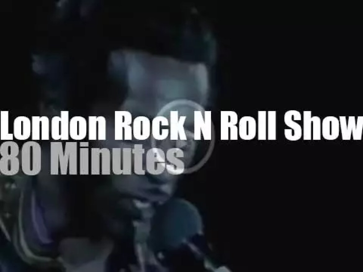 Chuck, Bo, Jerry Lee, they all came to  London for the Rock N Roll Show (1972)