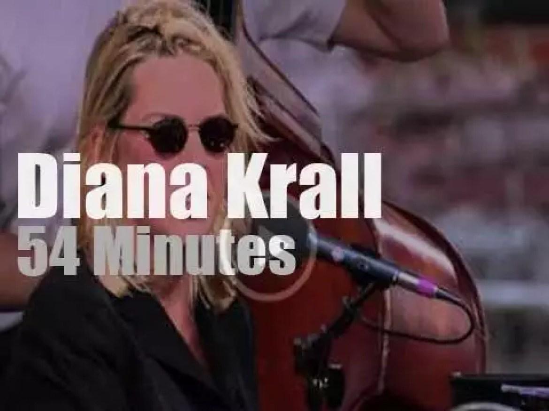 Diana Krall sings at Newport Jazz (1999)