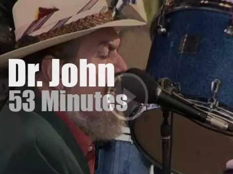Dr. John sings at Newport Jazz (2006)