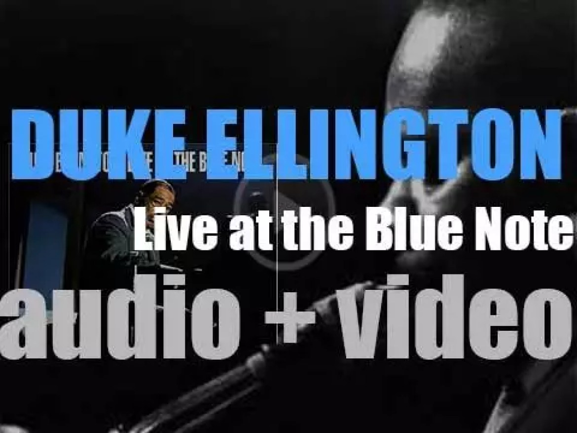 Duke Ellington records 'Live at the Blue Note' with his Orchestra (1959)