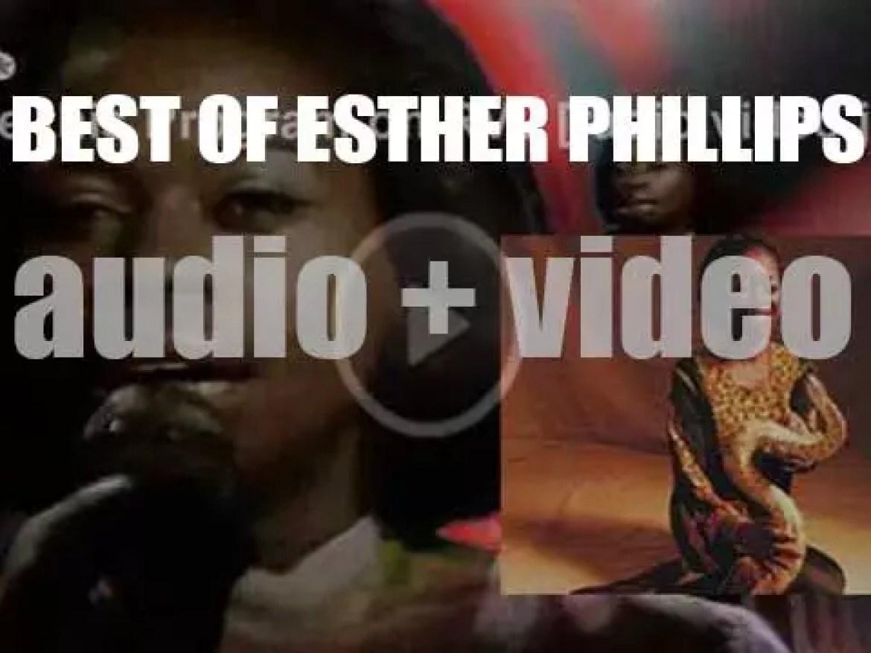 We remember Esther Phillips. 'Esthernal'