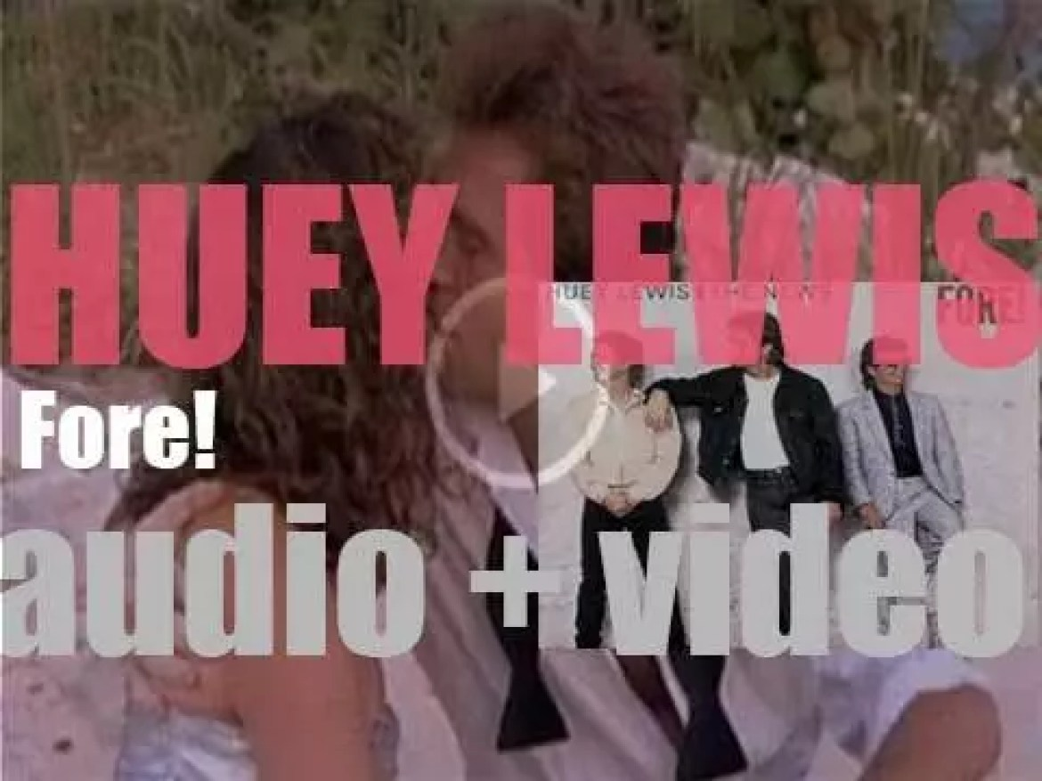 Huey Lewis & the News release 'Fore!,' their fourth album featuring 'Stuck with You' (1986)