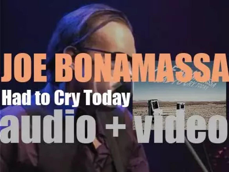 Joe Bonamassa releases his fourth studio album : 'Had to Cry Today' (2004)