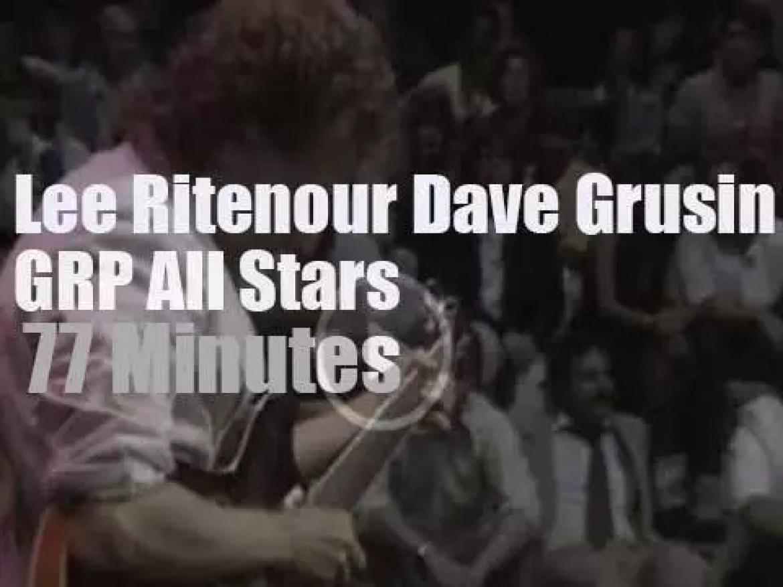 Lee Ritenour, Dave Grusin et al are live in studio (1985)