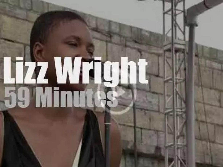 Lizz Wright sings at Newport Jazz (2003)