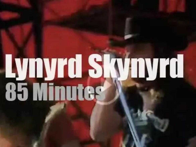 Lynyrd Skynyrd are at Knebworth Fair (1976)